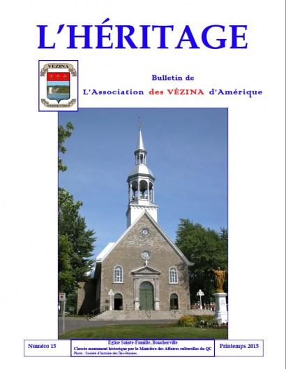 L'HÉRITAGE 15
