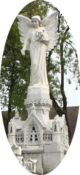 Mausolée d'Adélard - l'ange