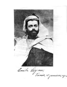 Emile Vezina en Tunisie, 1912