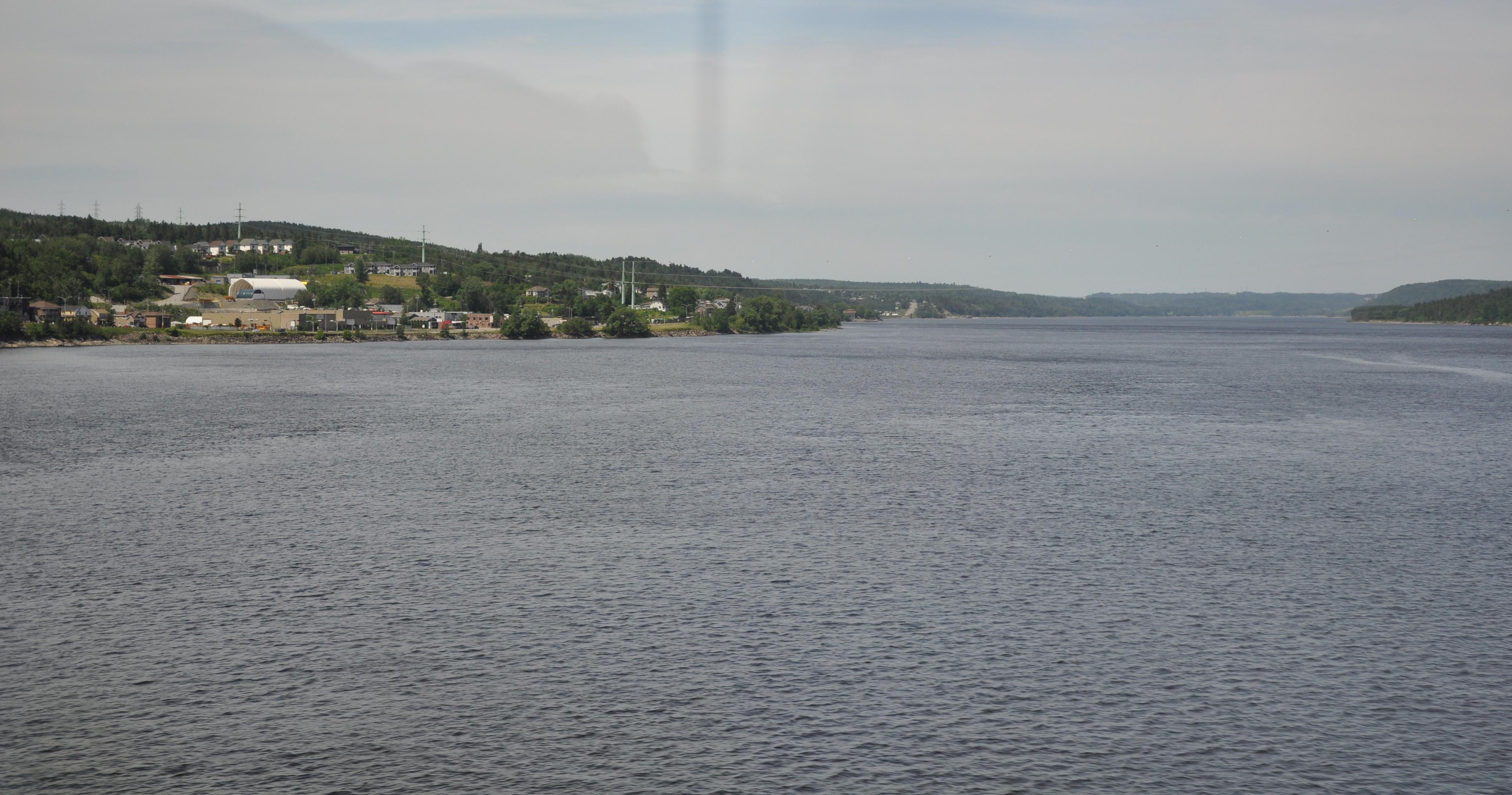 En route vers le Saguenay - Rivière Péribonka