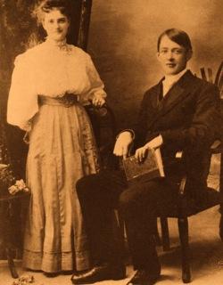 Geroges et son epouse Stella Morin