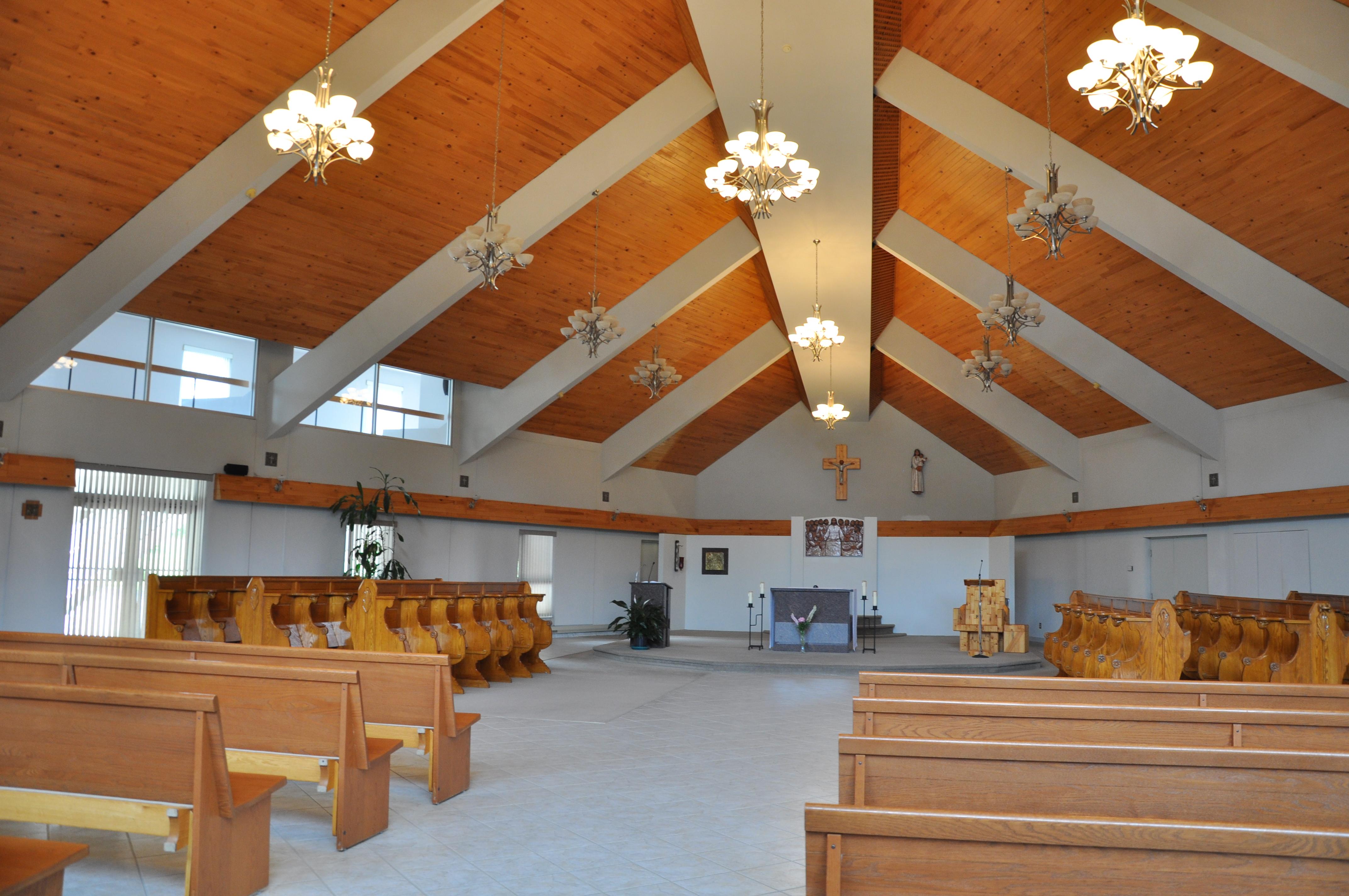 Intérieur du Monastère des Trappistes