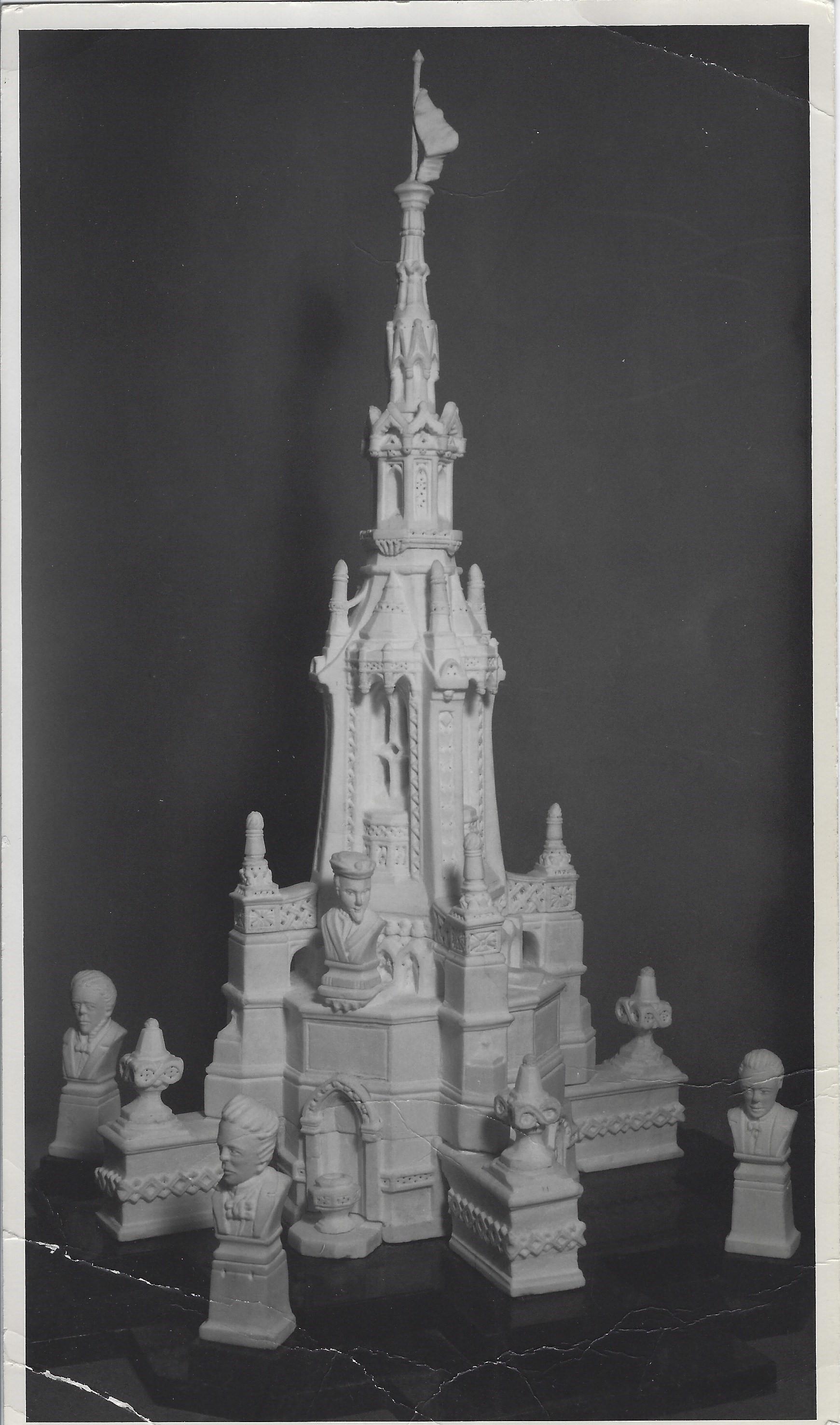 Pères de la Confédération (1967) le buste de Jacques Cartier sculpté par Adélard