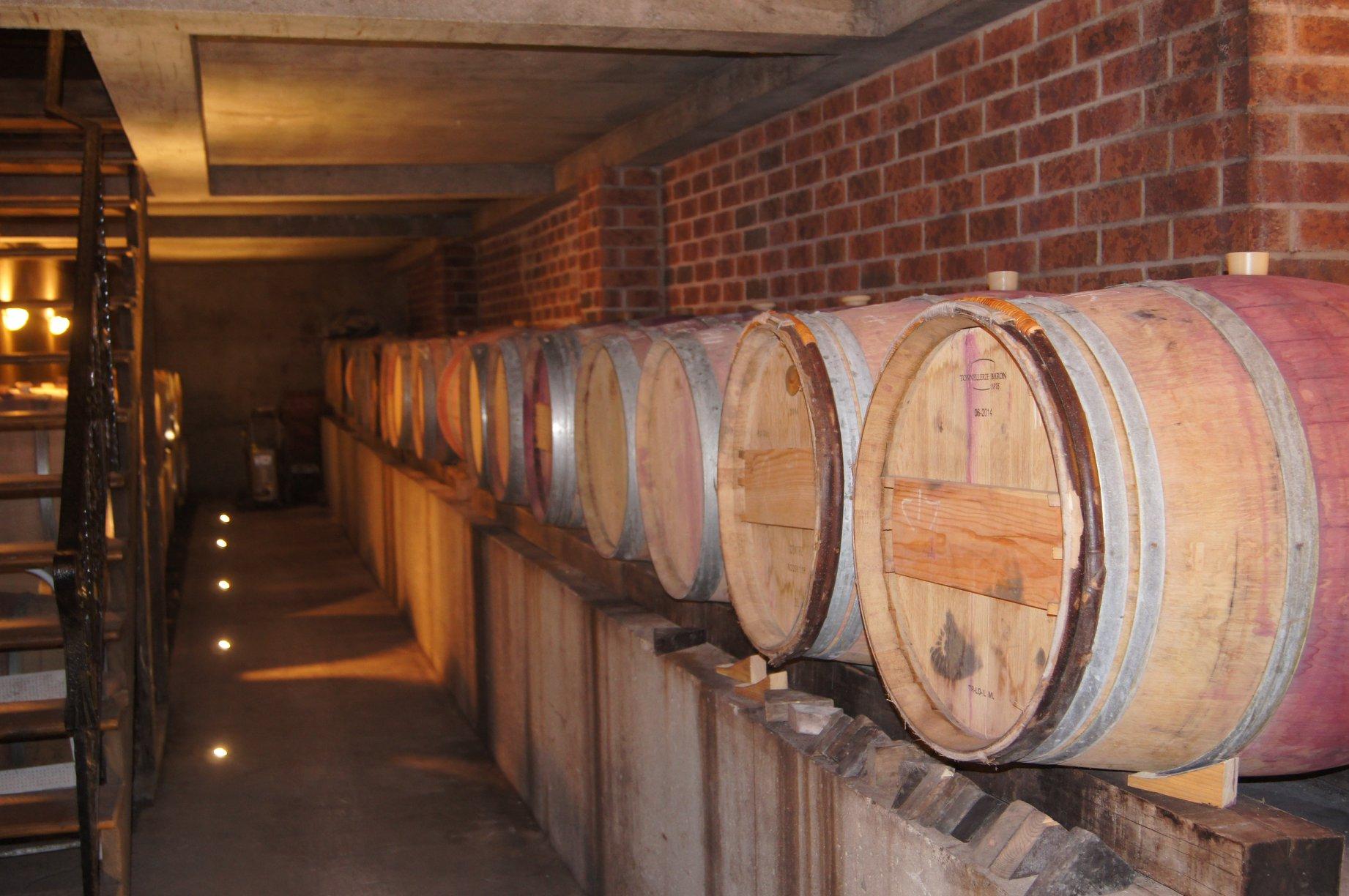 Des tonneaux pour le vieillissement des vins