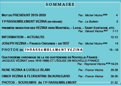Sommaire L'Heritage #24