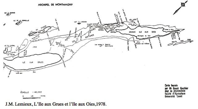 archipel iles aux grues