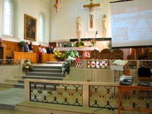 2009 à l'église de L'Ange-Gardien