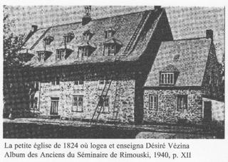 eglise Rimouski 1824