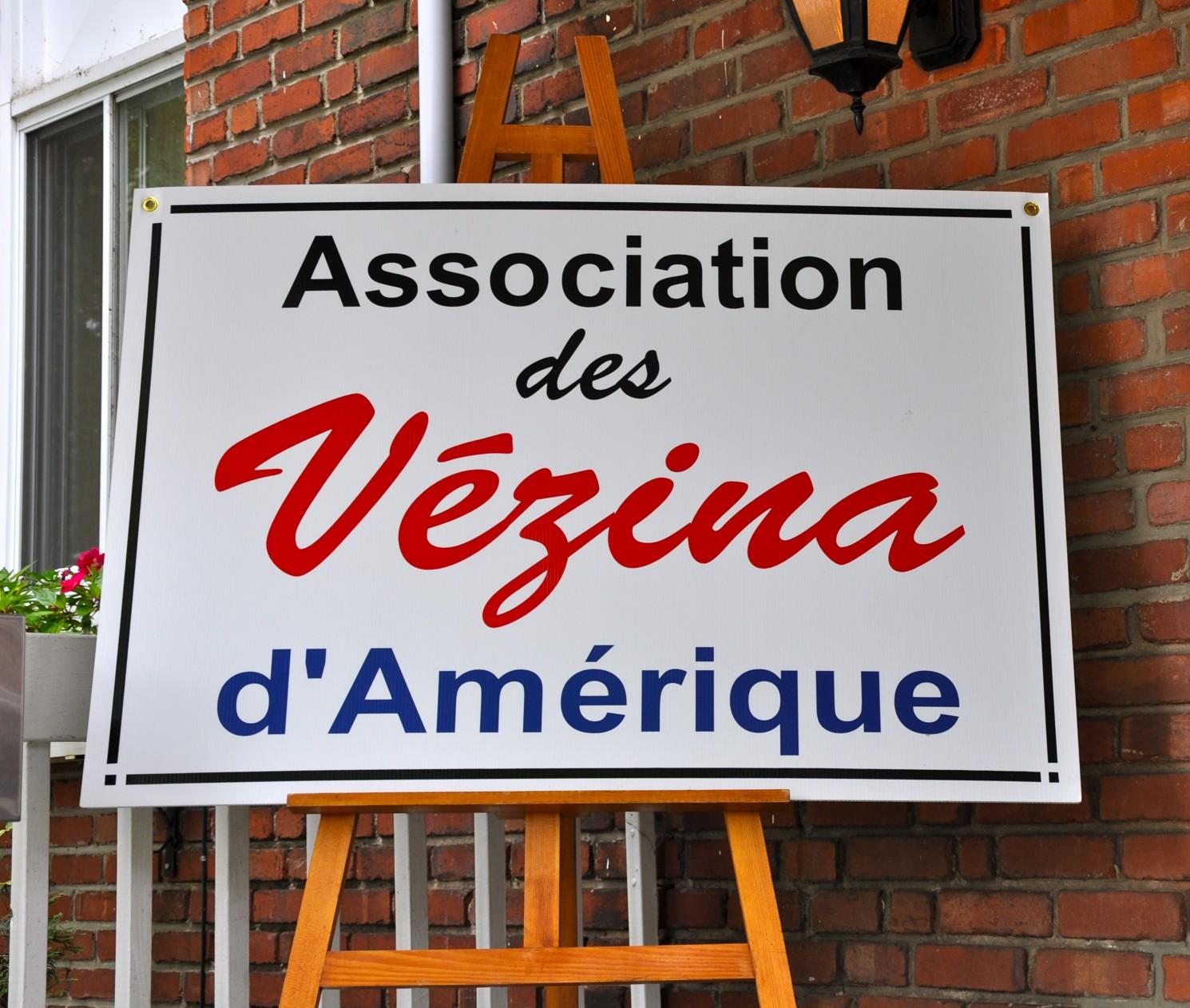 affiche de l'Association des Vézina