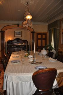salle diner tache
