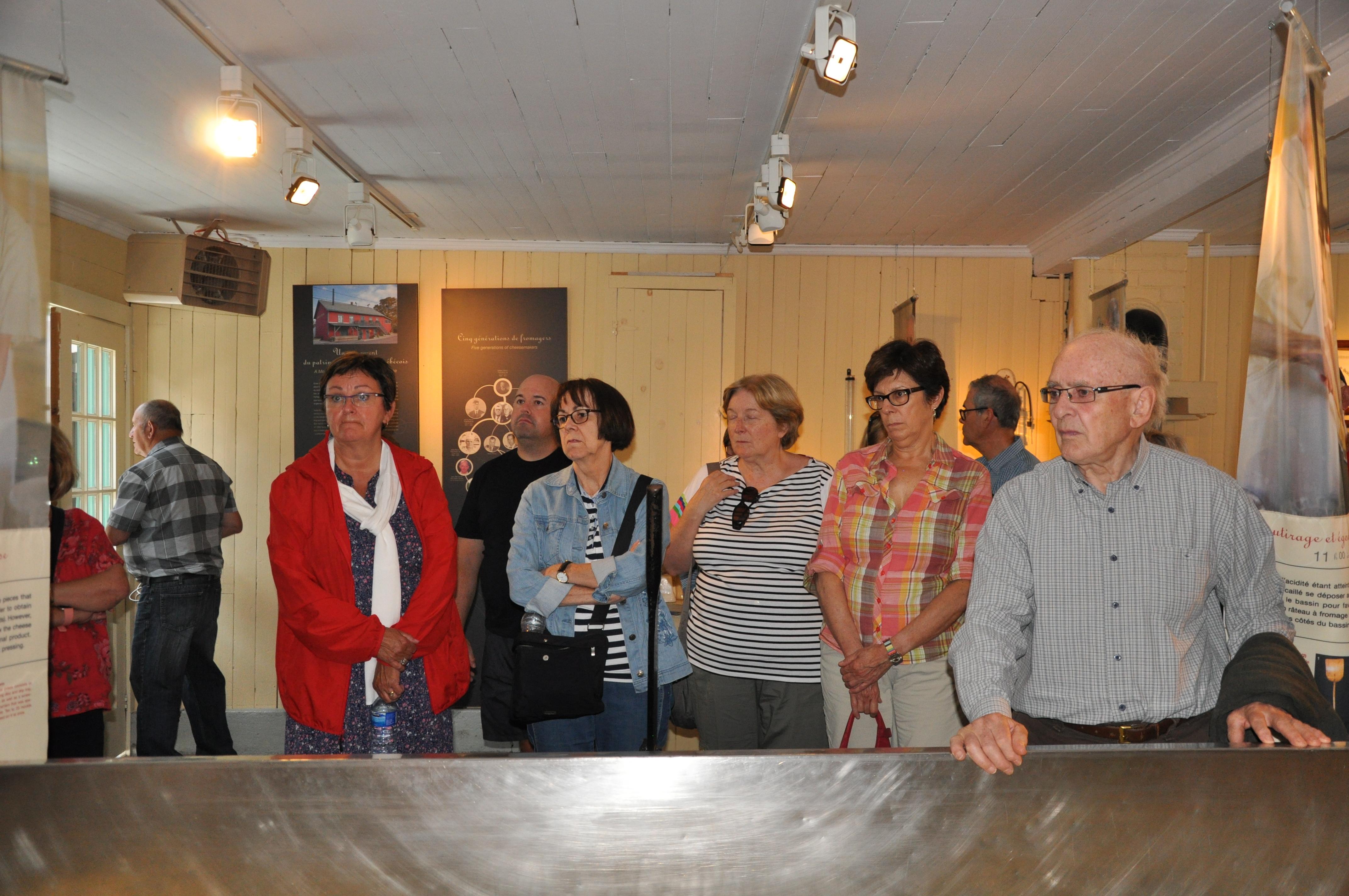 Visite de la fromagerie Perron à Saint-Prime (Musée...)